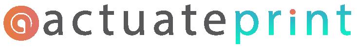 Actuate Print Logo